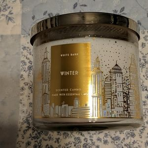 White Barn Winter candle